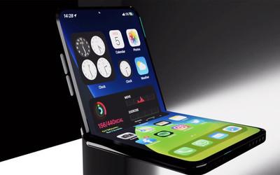 苹果可折叠iPhone或为双屏设计!与Surface Duo类似