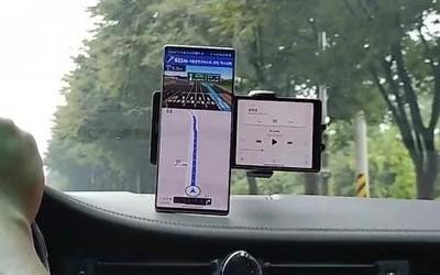 LG旋转屏手机再有新料!两层屏幕的手机还能这样用