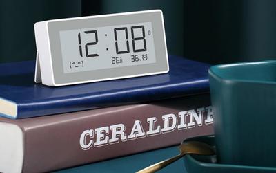 小米有品上架秒秒测智能时钟温湿度计 149元享新生活