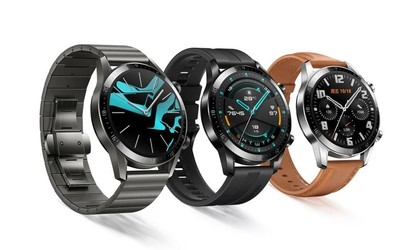 华为Watch GT 2 Pro渲染图曝光 圆形表盘有多款设计可选