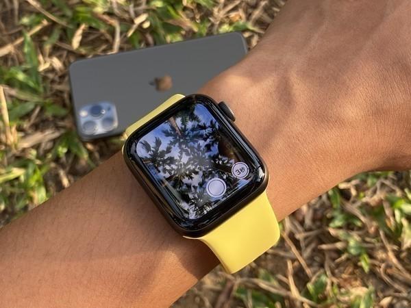 使用Apple Watch控制iPhone拍摄
