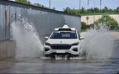 百度在北京开放自动驾∮驶出租车Apollo Go 可预约体验