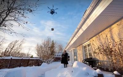 沃尔玛开启无人机送货试点计划 一次最多可运6.6磅