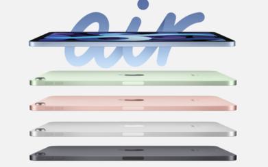 全新iPad Air发布:首发5nm制程A14仿生芯片 4799元起