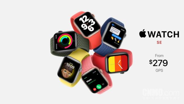Apple Watch SE售价279美元起