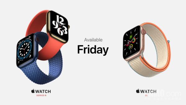 苹果2020秋季新品发布会上推出的两款Apple Watch系列新品