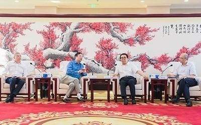 任正非来访中国科学院 就基础研究及关键技术进行交流
