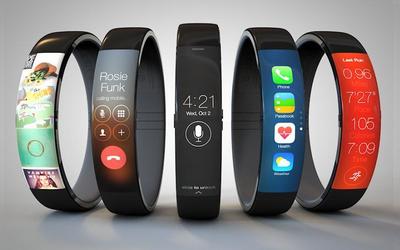 苹果新型健身手环专利图公布 配备Micro-LED显示屏