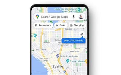 """谷歌地图将加入""""COVID-19""""图层 通过颜色区分疫情变化"""