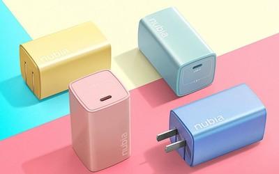 努比亚65W氮化镓Candy多彩系列充电器开售 109入手