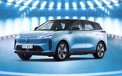 奔腾E01纯电SUV正式上市 超感智能交互19.68万元起