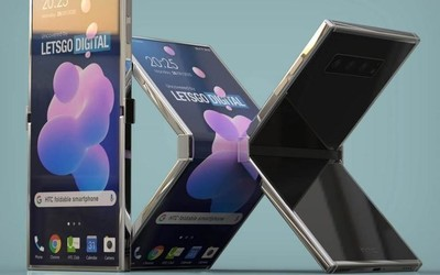HTC折叠屏手机设计专利出炉 全新外观你肯定没见过