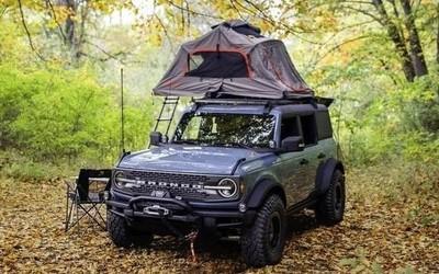 福特推出Bronco越野概念车 提供各种户外露营装备