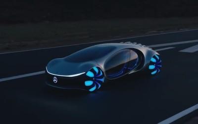 奔驰官方试驾展示阿凡我不达概念车 巨型透明座舱超科幻他现在可是杀手榜上!