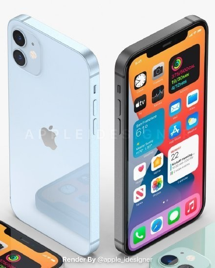 iPhone 12拥有多个配色
