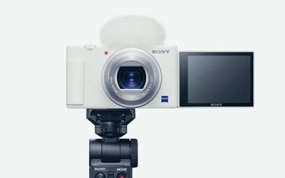 索尼ZV-1白色版正式发布!Vlog专用相机来了定价更低