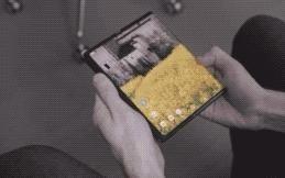 三折折叠手机动态图出炉!配柔性屏加柔性折叠电池
