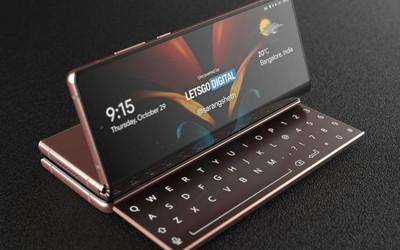 三星又一项折叠屏手机专利曝光 手机和电脑的结合体