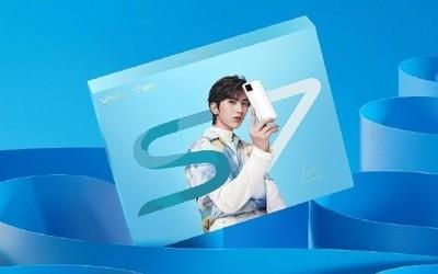 vivo S7蔡徐坤独家定制礼盒上市!前置44MP自拍双摄