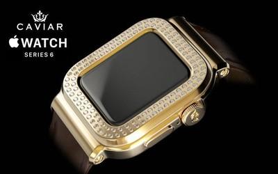 Caviar推出Apple Watch 6限量版系列 鑲嵌109顆鉆石