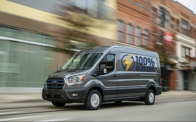 福特E-Transit電動貨車正式發布 續航203公里約售30萬