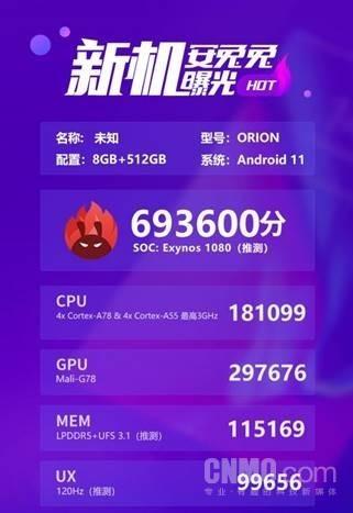 """三星Exynos 1080處理器:用什么來解救那些困在""""跑分里""""的人"""