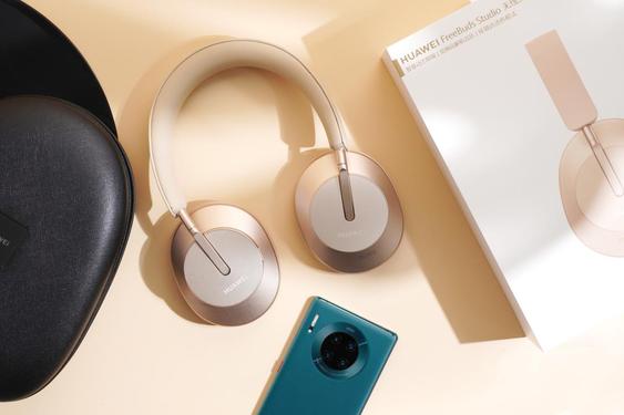 華為推出首款頭戴耳機FreeBudsStudio