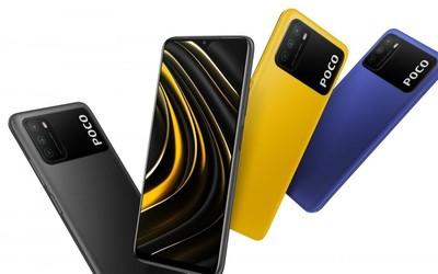 POCO M3正式发布 6000mAh大电池售价竟不到千元