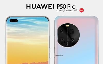 华为P50 Pro最新渲染图曝光 网友:真的吗?我不信