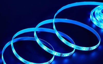 水母云智能幻彩灯带华为商城众测 照明氛围双模式
