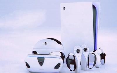 索尼PS5 VR设计专利曝光!外观更轻巧 支持触觉反馈