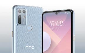 HTC Desire 20+新版本亮相 云彩蓝款渐变色很吸引人