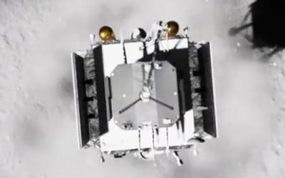 嫦娥五号成功落月 后续将开展月面土壤样本采集工作