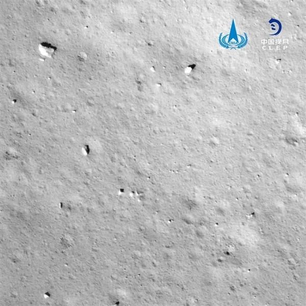 嫦娥五号传回顾张月球影象图:将起头为期两天的使命