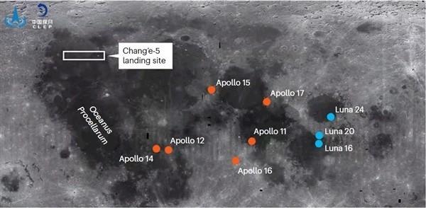 嫦娥五号传回首张月球影像图:将开始为期两天的工作