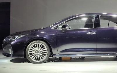 一汽丰田ALLION将于明年3月29日上市 外观设计已知