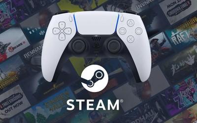 Steam最新版本已支持索尼PS5手柄 更多功能正在路上