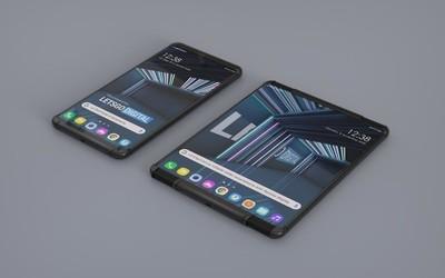 LG彩虹柔性屏手机曝光 两边拉伸展开 也可仅展开一面