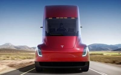 传特斯拉正在制造新型电动卡车 用于进行各项测试