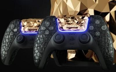 继三星S21 Ultra后 黄金PS5也来了:涂满18克拉黄金