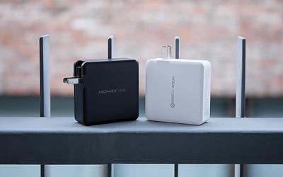 MOMAX ONEPLUG 100W充电头评测:2C2A才是真环保