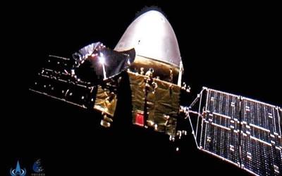 天问一号飞行里程突破4亿公里 一个月后进入环火轨道