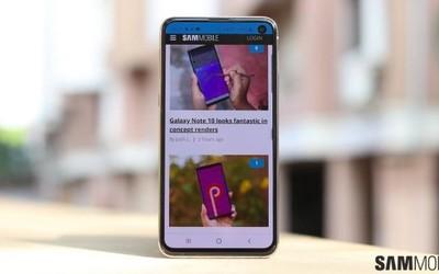 外媒:三星S10已开始推送基于Android 11的UI 3.0更新