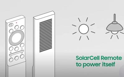 三星电视将在2021年配备太阳能遥控器 通过灯光充电