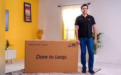 realme成印度增长最快的电视品牌!与小米竞争激烈