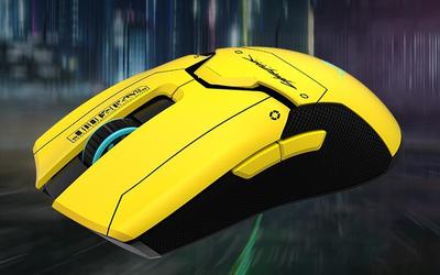 限定500只!雷蛇推出赛博朋克2077限定款电竞鼠标
