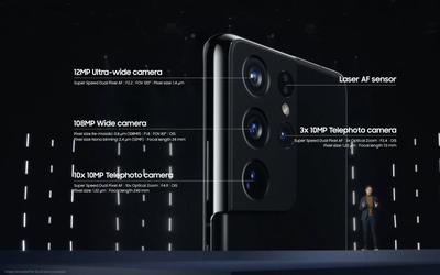 三星S21 5G系列正式发布 支持最高百倍变焦799美元起