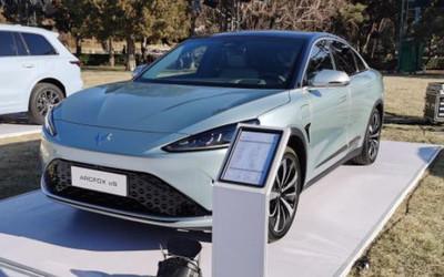 又一款纯电轿车!极狐全新车型ARCFOX αS正式亮相