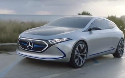 全新奔驰EQA电动原型车谍照曝光 将有多个动力版本