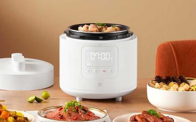 米家智能电压力锅2.5L今日开售:年轻人的一人食神器